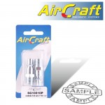 """CONNECTOR ARO TYPE 1/4"""" MALE 2PACK"""