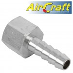 """CONNECTOR HOSETAIL 1/4""""X 8MM  2PACK"""