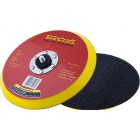 DA SANDER PAD VELCRO 5 16 - 24UNF MED SOFT NO HOLES 150MM 6""