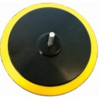 BACKING PAD VELCRO 125MM WITH 8MM SPINDLE