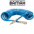 SPIRAL POLYP HOSE 8M X 12MM WITH QUICK COUPLERS