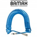 SPIRAL POLYP HOSE 12M X 10MM WITH QUICK COUPLERS
