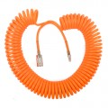 SPIRAL HOSE 15MX8MM W/ARO QUICK COUPLER