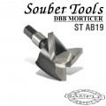 CUTTER 19MM /LOCK MORTICER FOR ALUMINIUM SNAP ON