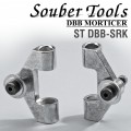 SLIDER REPAIR KIT 2PCE FOR LOCK MORTICER