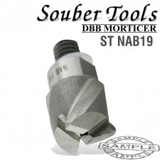 CUTTER 19MM /LOCK MORTICER FOR ALUMINIUM NEW SCREW TYPE