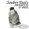 CUTTER 25MM /LOCK MORTICER FOR ALUMINIUM NEW SCREW TYPE