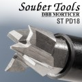 PLUNGING CUTTER 17.6MM /LOCK MORTICER FOR TUBULAR LATCHES SCREW TYPE