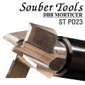 PLUNGING CUTTER 23MM /LOCK MORTICER FOR TUBULAR LATCHES SCREW TYPE