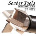 PLUNGING CUTTER 25MM /LOCK MORTICER FOR TUBULAR LATCHES SCREW TYPE