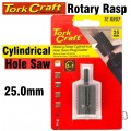 3 IN 1 ROTARY RASP CYL. / HOLE SAW / PLUG CUTTER 25MM X 35MM