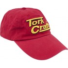 TORK CRAFT BASE BALL CAP RED ONE SIZE FITS ALL