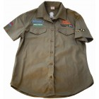 VERMONT MENS BUSH SHIRT KHAKI 100% COTTON 3XL