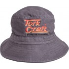TORK CRAFT BUCKET HAT GREY ONE SIZE FITS ALL