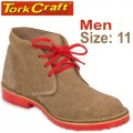 TORK CRAFT MENS VELLIE SHOES BROWN SIZE 11