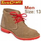 TORK CRAFT MENS VELLIE SHOES BROWN SIZE 13