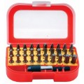 SCREWDRIVER BIT SET 31PCS IN BLISTER