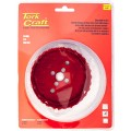 HOLE SAW CARBIDE GRIT 92MM - RED