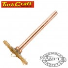 MINI BRASS BRUSH 19.1MM WHEEL 3.2MM SHANK