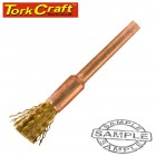 MINI BRASS BRUSH 3.2MM END 3.2MM SHANK