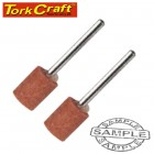 MINI GRINDING STONE 11.1MM ROUND POINT 3.2MM SHANK