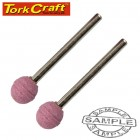 MINI GRINDING STONE 9.5MM BALL 3.2MM SHANK