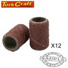 MINI SANDING SLEEVE 6.4MM 120G 12PC