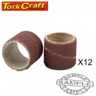 MINI SANDING SLEEVE 12.7MM 120G 12pc