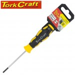 SCREWDRIVER SLOTTED 3.2 X 75MM