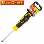 SCREWDRIVER SLOTTED 4 X 75MM