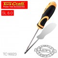 SCREWDRIVER SLOTTED 6 X 38MM