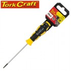 SCREWDRIVER TORX TAMPER PROOF T9 4X75MM