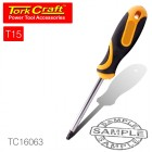 SCREWDRIVER TORX TAMPER PROOF T15 5X100MM