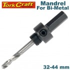 MANDREL 7/16 HEX 32 - 44MM