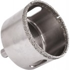 DIAMOND CORE BIT 70MM FOR TILES HEX SHANK