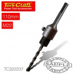 ADAPTOR SDS PLUS 110MMXM22 FOR TCT CORE BITS