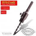 ADAPTOR HEX 110MMXM22 FOR TCT CORE BITS