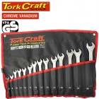14PCS DEEP OFFSET COMBINATION SPANNER SET 8-24MM