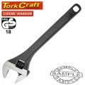 "SHIFTING SPANNER 18"" 450MM 0-52MM"