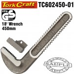 REPL. JAW SET PIPE WRENCH HEAVY DUTY 450MM