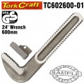 REPL. JAW SET PIPE WRENCH HEAVY DUTY 600MM