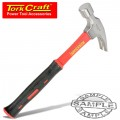 HAMMER CLAW 700G (24OZ) FIBREGLASS HANDLE 295MM & FULL POL HEAD