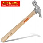 HAMMER CLAW 700G (24OZ) WOODEN HANDLE 280MM & FULL POL HEAD