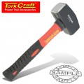 HAMMER CLUB 1.1KG (2.5LB) FIBREGLASS HANDLE 215MM