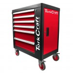 TORK CRAFT 6 DRAWER ROLLER CABINET ON CASTORS WITH 184PC OF STOCK