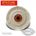 BUFFING PAD - MEDIUM 100MM TO FIT 12.5MM ARBOR/SPINDLE
