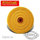 BUFFING PAD FIRM 150MM TO FIT 12.5MM ARBOR/SPINDLE