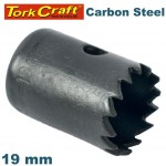 HOLE SAW CARBON STEEL 19MM