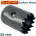 HOLE SAW CARBON STEEL 22MM