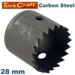 HOLE SAW CARBON STEEL 28MM